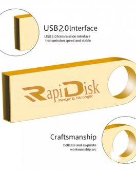 RapiDisk Usb Flash drive 64 GB gold colour